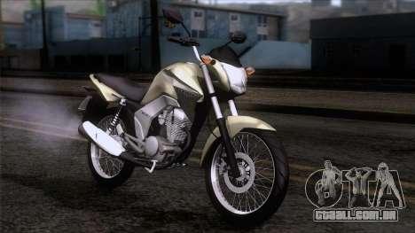 Honda CG Titan 150 2014 para GTA San Andreas