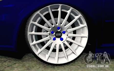 Volkswagen Golf Mk4 R32 Stance v2.0 para GTA San Andreas traseira esquerda vista