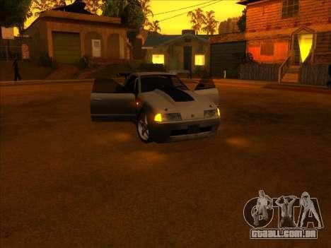 Elegy Skyline para GTA San Andreas vista traseira