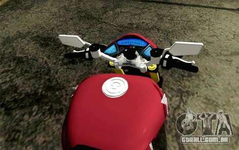 Honda CB1000R para GTA San Andreas vista direita