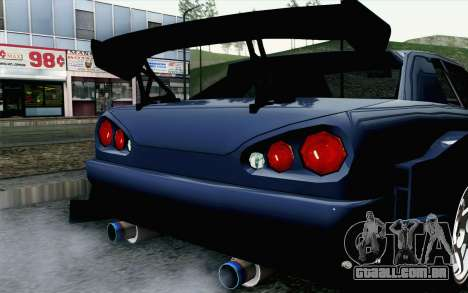 Elegy GP Sports G-SONIC EVO Kit para GTA San Andreas vista traseira