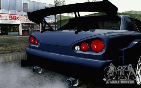 Elegy GP Sports G-SONIC EVO Kit para GTA San Andreas vista traseira