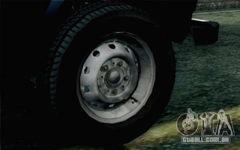 VAZ 2131 Niva 5D para GTA San Andreas traseira esquerda vista