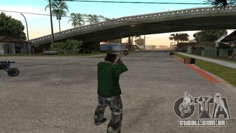 Black Deagle para GTA San Andreas terceira tela
