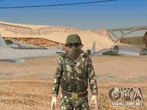 Cine forças especiais da URSS para GTA San Andreas quinto tela