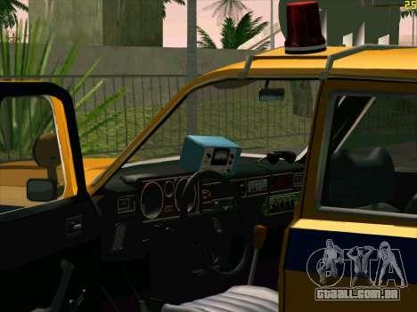 Volga 24-10 GAI para GTA San Andreas vista traseira
