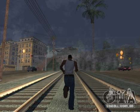 GTA 5 Timecyc v2 para GTA San Andreas quinto tela