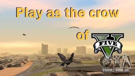 A possibilidade de GTA V para jogar bird V. 1 para GTA San Andreas
