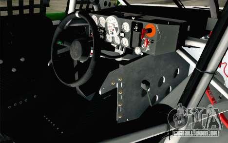 NASCAR Chevrolet SS 2013 v4 para GTA San Andreas vista direita