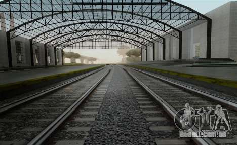 HD Trilhos v3.0 para GTA San Andreas