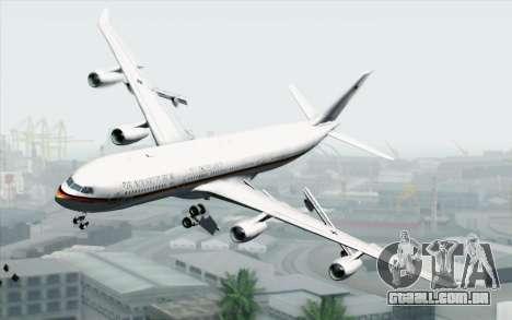 Airbus A340-300 Luftwaffe Konrad Adenauer para GTA San Andreas