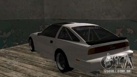 Nissan Fairlady Z 300ZX (Z31) para GTA San Andreas vista direita