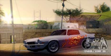 Pierce The Veil ENB para GTA San Andreas por diante tela
