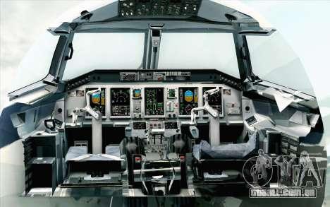 Embraer EMB-175 LOT Polish Airlines 600th E-Jet para GTA San Andreas vista traseira