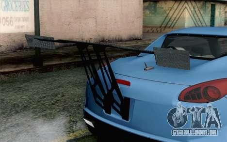 Pontiac Solstice para GTA San Andreas vista traseira