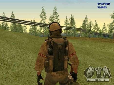 O policial da milícia de Moscou para GTA San Andreas por diante tela