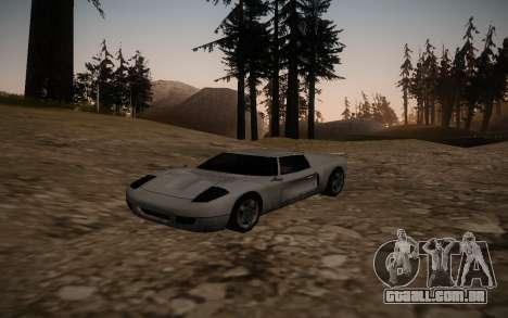 ENB por meio do PC para GTA San Andreas