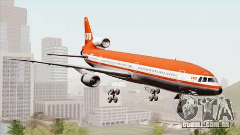 Lookheed L-1011 LTU Intl para GTA San Andreas