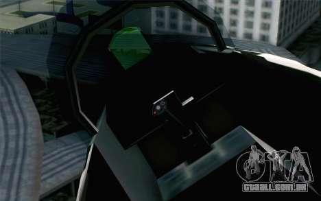 Hydra ADFX-02 Pixy para GTA San Andreas vista direita