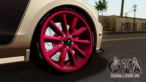 Ford Mustang Boss 302 2013 para GTA San Andreas traseira esquerda vista