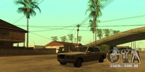 SkyGFX v1.3 para GTA San Andreas terceira tela