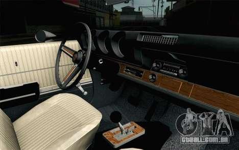 Oldsmobile 442 Férias Coupé 1969 FIV АПП para GTA San Andreas vista direita