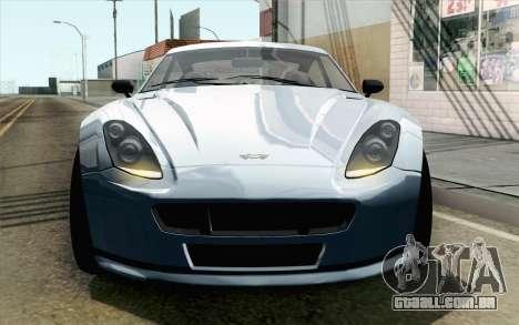 GTA 5 Dewbauchee Exemplar IVF para GTA San Andreas vista direita
