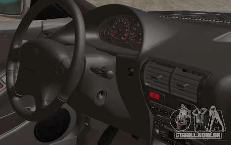 Acura Integra Type R 2001 Stock para GTA San Andreas vista traseira
