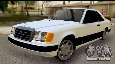 Mercedes Benz E320 W124 Coupe para GTA San Andreas