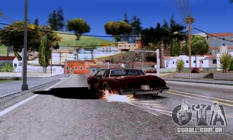 ENB Series EvoGraphics v 1.0 para GTA San Andreas segunda tela