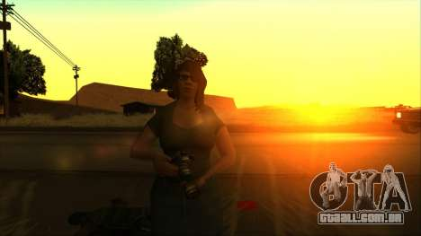 SkyGFX v1.3 para GTA San Andreas
