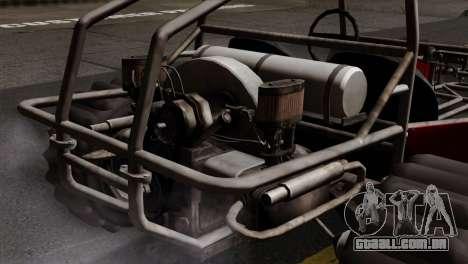 GTA 5 Dune Buggy SA Mobile para GTA San Andreas traseira esquerda vista