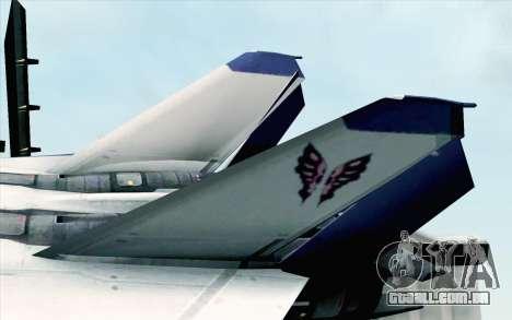 CFA-44 Butterfly Master para GTA San Andreas traseira esquerda vista