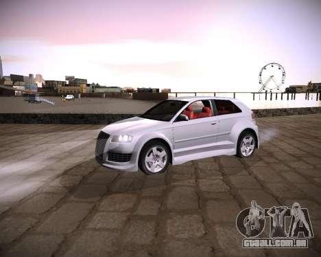 Extreme ENBSeries para GTA San Andreas por diante tela