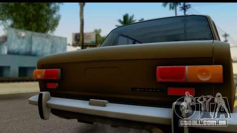VAZ 2101 Estoque v3.2 para GTA San Andreas vista direita