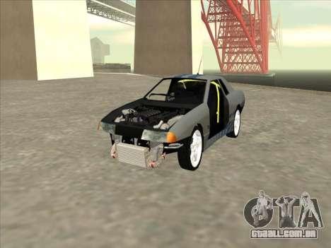 Elegy Skyline para vista lateral GTA San Andreas