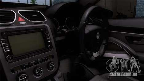 Volkswagen Scirocco GT 2009 para GTA San Andreas vista direita