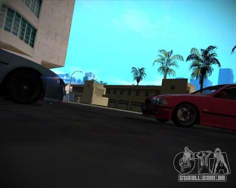 BMW 5-series E39 Vossen para as rodas de GTA San Andreas