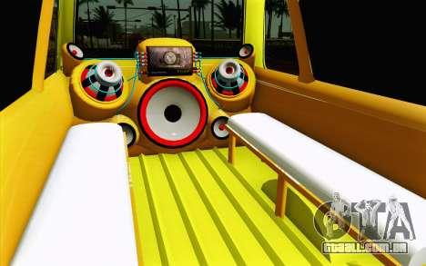 Daihatsu Espass Angkot YRT para GTA San Andreas vista interior