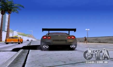 ENB Series EvoGraphics v 1.0 para GTA San Andreas por diante tela