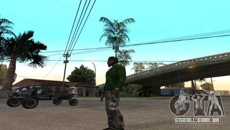Black Deagle para GTA San Andreas segunda tela