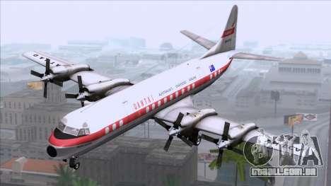 L-188 Electra Qantas para GTA San Andreas