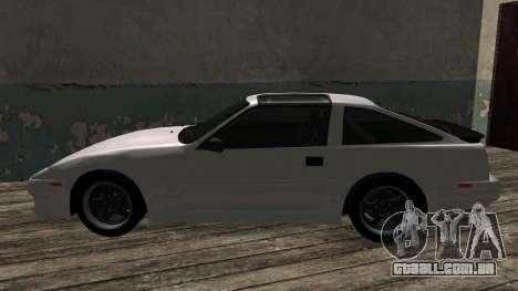 Nissan Fairlady Z 300ZX (Z31) para GTA San Andreas vista traseira