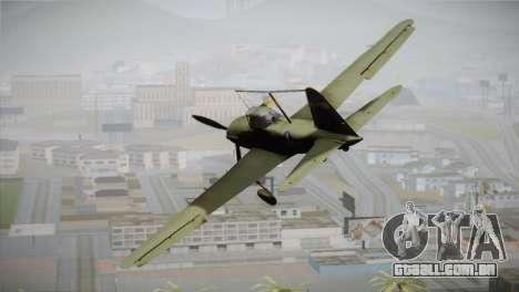 ИЛ-10 da Força Aérea dos Estados Unidos para GTA San Andreas esquerda vista