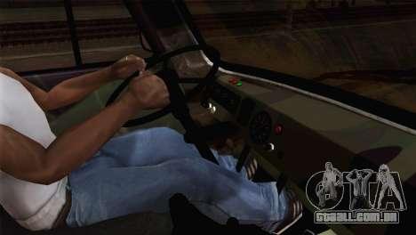 UAZ 2206 Pão para GTA San Andreas traseira esquerda vista