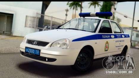 VAZ 2170 SPSP para GTA San Andreas