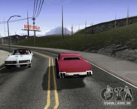 Medium ENBseries v1.0 para GTA San Andreas terceira tela