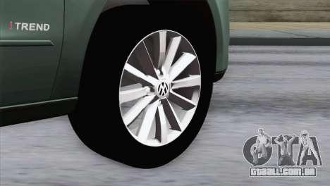 Volkswagen Golf Trend para GTA San Andreas traseira esquerda vista