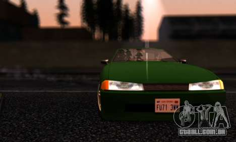 Elegy I Love GS v1.0 para vista lateral GTA San Andreas