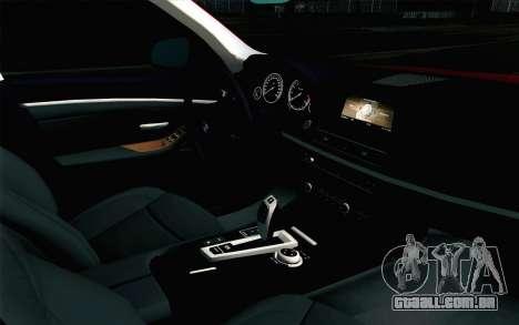 BMW 530d F11 Facelift IVF para GTA San Andreas vista direita